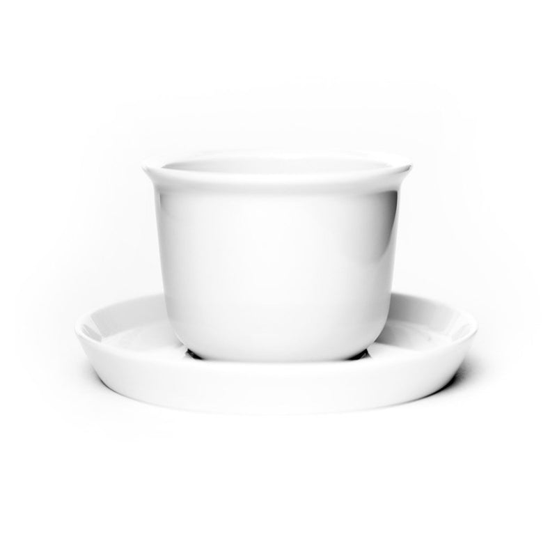 Leaves to Tea Cup white  A matching cup and saucer of porcelain: Holds 160 ml. Cup Paper & Tea