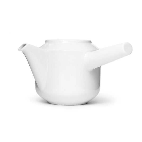 Leaves to Tea Kyusu white  A modern side-handled teapot in porcelain: Holds 300 ml. Teapot Paper & Tea