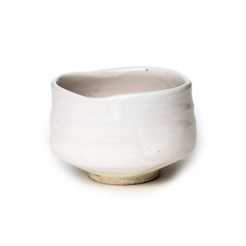 Miruku bowl  A stoneware matcha bowl with creamy white glaze: Holds 350 ml. Bowl Paper & Tea