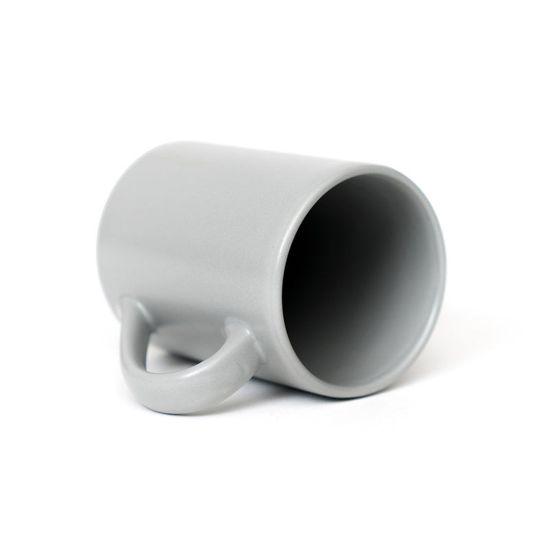 P & T Mug Grey  A stoneware mug for daily use: Holds 300 ml. Cup Paper & Tea