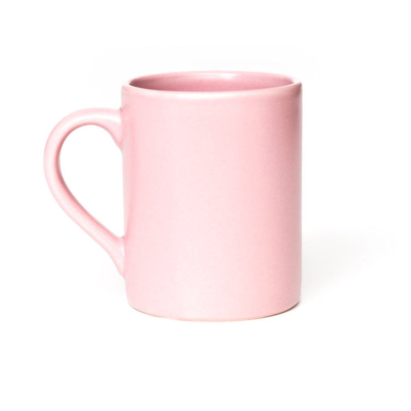 P & T Mug Pink  A stoneware mug for daily use: Holds 300 ml. Cup Paper & Tea