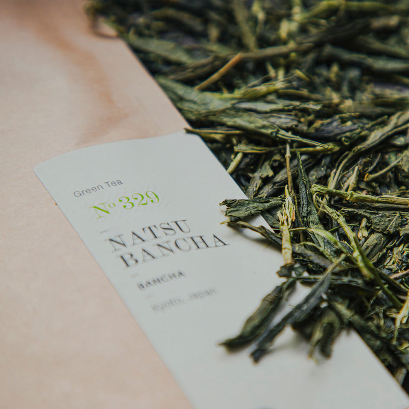 P & T Paper & Tea - Natsu Bancha N°329 A Japanese green tea made from mature leaves