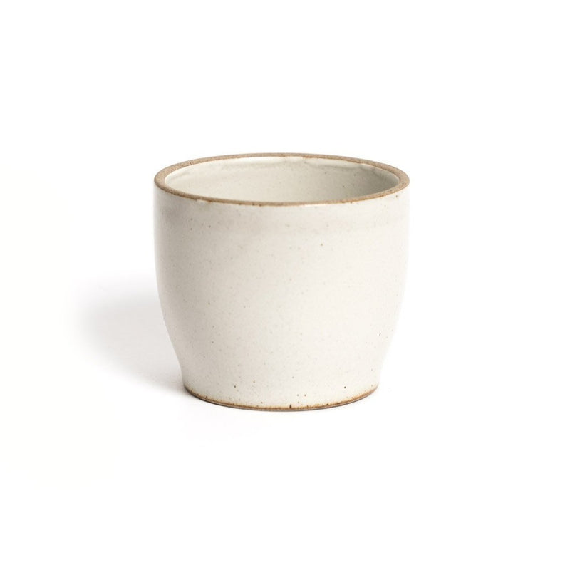 Nori cup white  A porcelain cup with a matte glaze: Holds 200 ml. Cup Paper & Tea