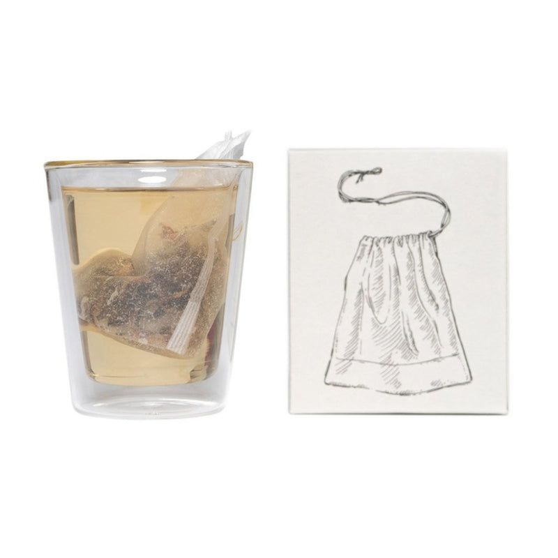 Satchel Tea Filters  100% compostable paper tea filters: 50 pieces.  Tea Accessoires Paper & Tea