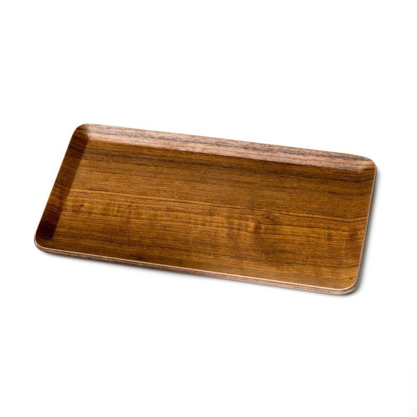 Sheet Tray Teak - small  A serving tray made from teak wood. Tray Paper & Tea
