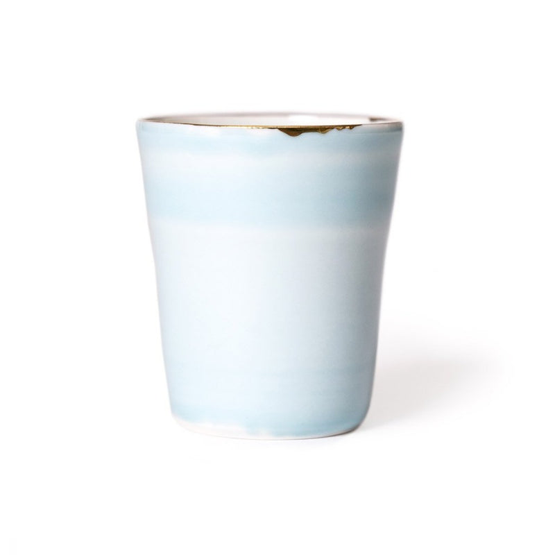 Spring Air Cup  A hand-crafted porcelain cup by Nastia Eliseeva: Holds 100 ml. Cup Paper & Tea