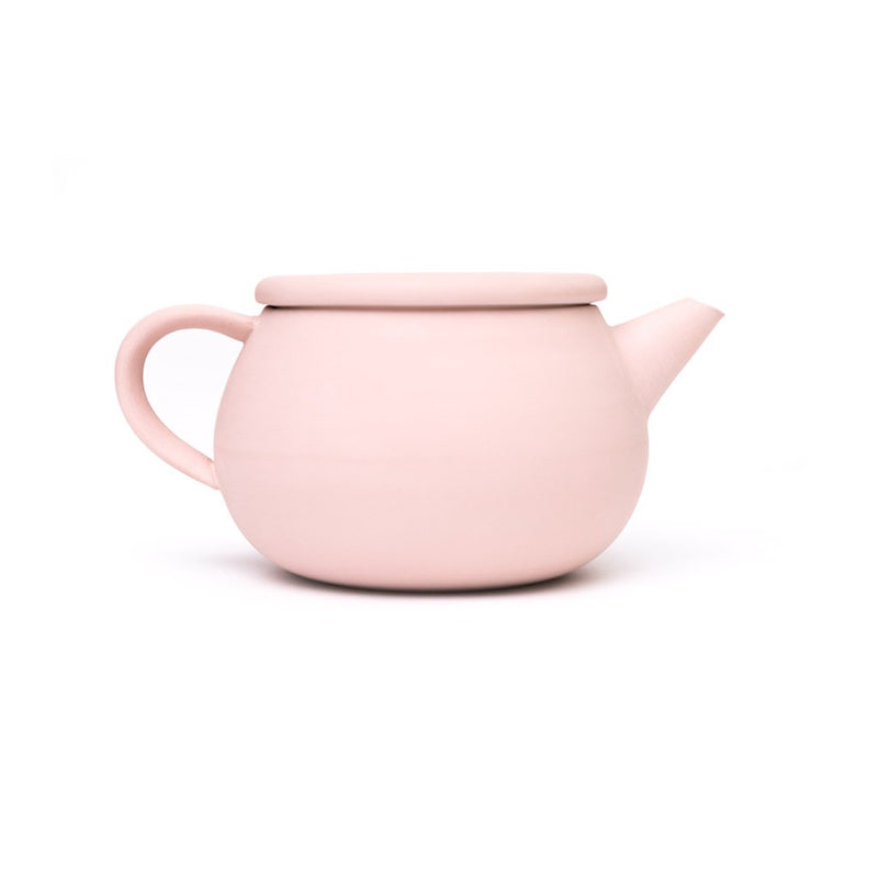 Thirsty Cloud Teapot pink  A porcelain pot made from Tokoname clay: Holds 350 ml.  Teapot Paper & Tea