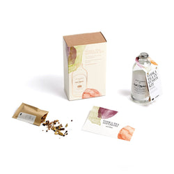Vodka Tea Infusion Kit - Spiced  A vodka & tea home infusion kit with Deep Asana spice blend.   Paper & Tea