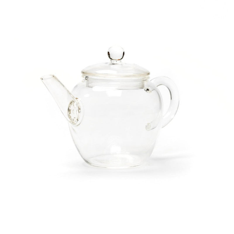 Wù Pot  A glass teapot with integrated glass strainer for gong fu cha: Holds 190 ml. Teapot Paper & Tea