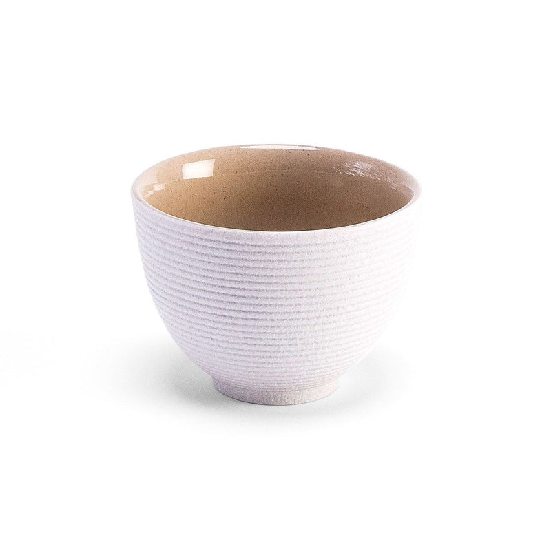 Zen Garden Cup White  A Taiwanese stoneware cup: Holds 75 ml.  Cup Paper & Tea
