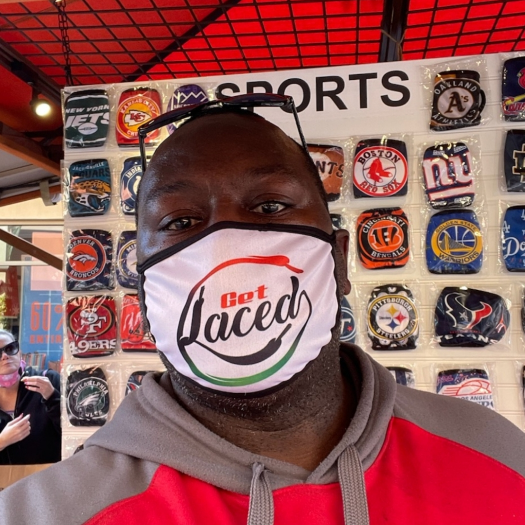 Get Laced Face Mask - Get Laced Laces