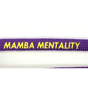 Mamba Mentality Laces - Get Laced Shoelaces