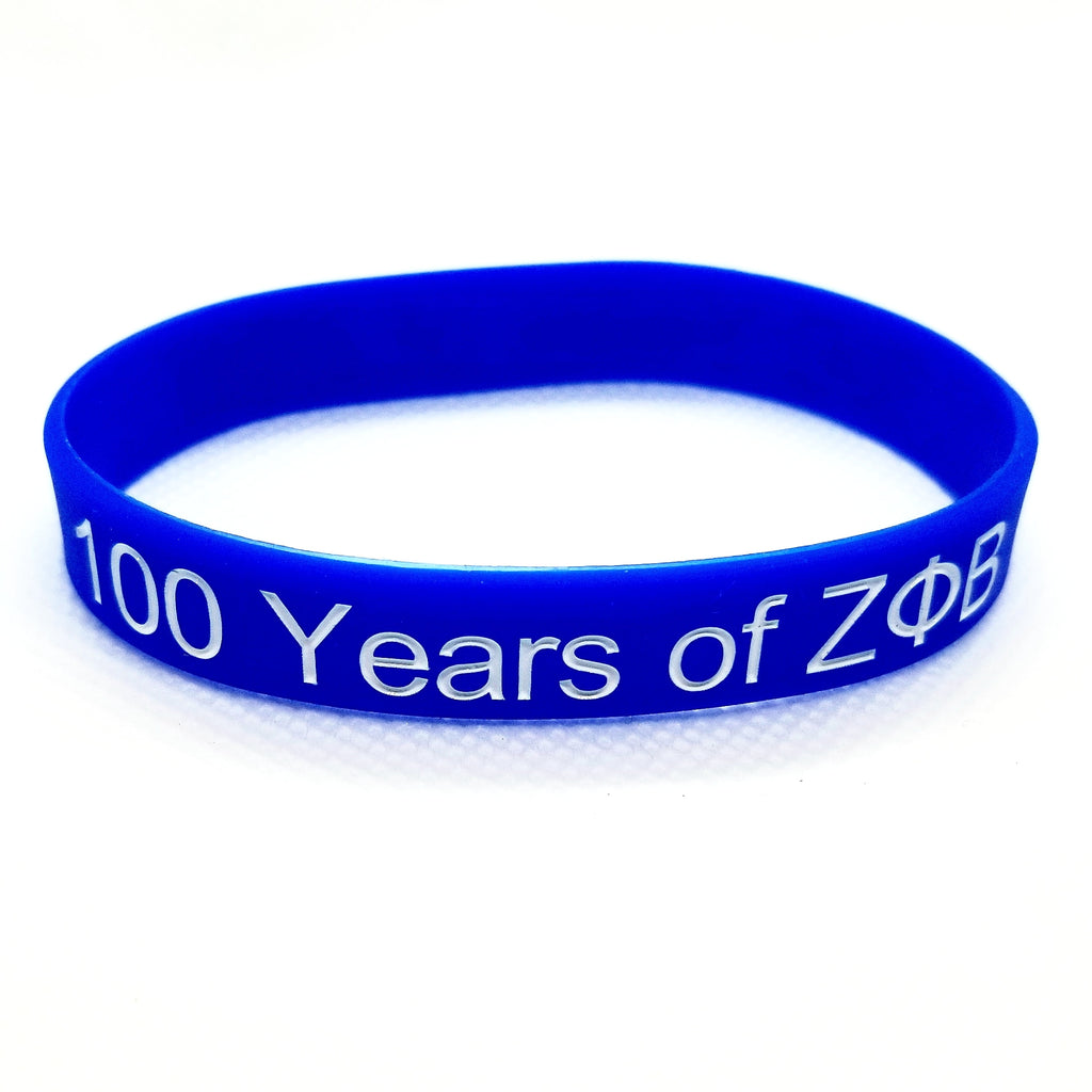Zeta Phi Beta Centennial Wristbands - Get Laced Shoelaces