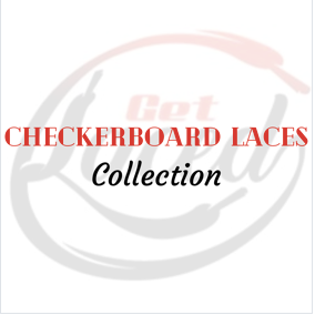 Crafty Checkerboard Laces Pack - Get Laced Laces