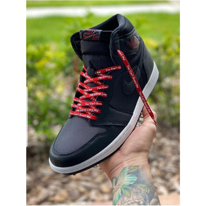 Premium You Can't Guard Me! Laces - Get Laced Shoelaces