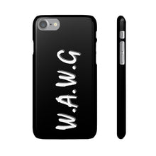 "Load image into Gallery viewer, New ""WE ALL WE GOT"" Phone Case Black"