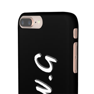 "New ""WE ALL WE GOT"" Phone Case Black"
