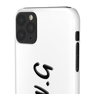 "New ""WE ALL WE GOT"" Phone Case White"