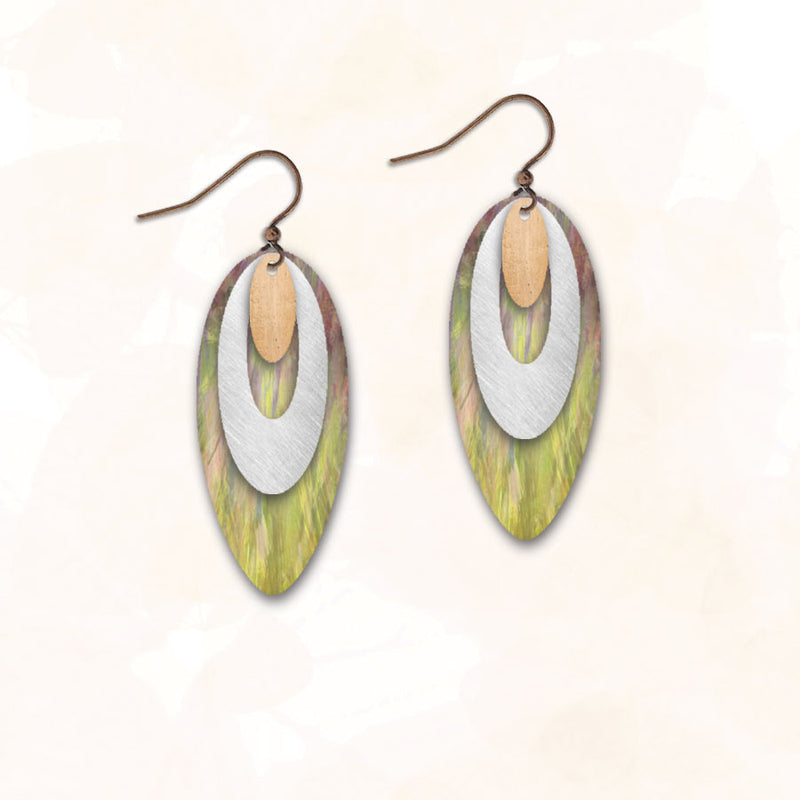 Layered Ovals 14NDCS | Hook | Grassy Green