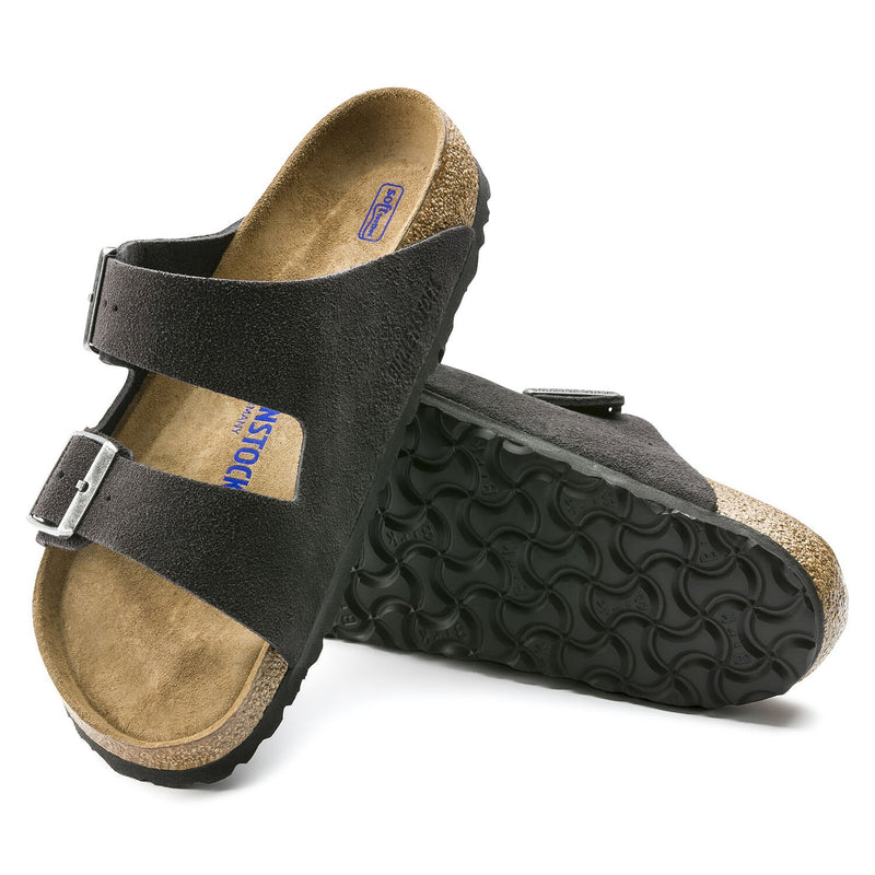 Arizona | Soft Footbed | Suede | Velvet Gray