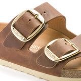 Arizona | Big Buckle | Oiled Leather | Cognac