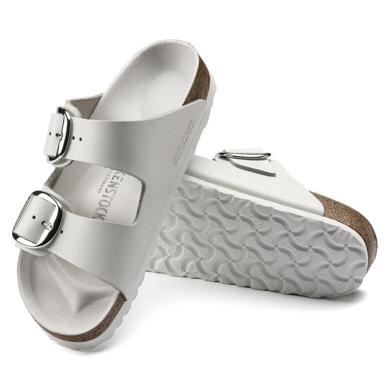 Arizona | Big Buckle | Leather | White