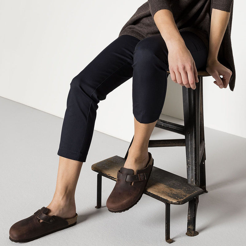 Boston | Soft Footbed | Oiled Leather | Habana Brown