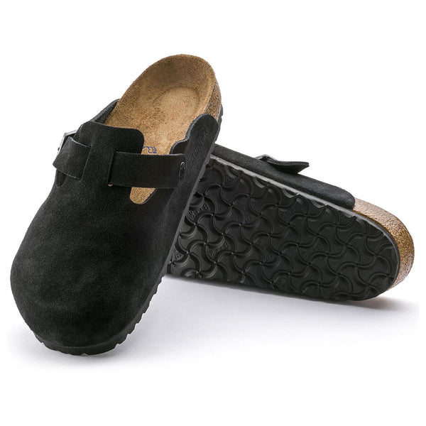 Boston | Soft Footbed | Suede | Black