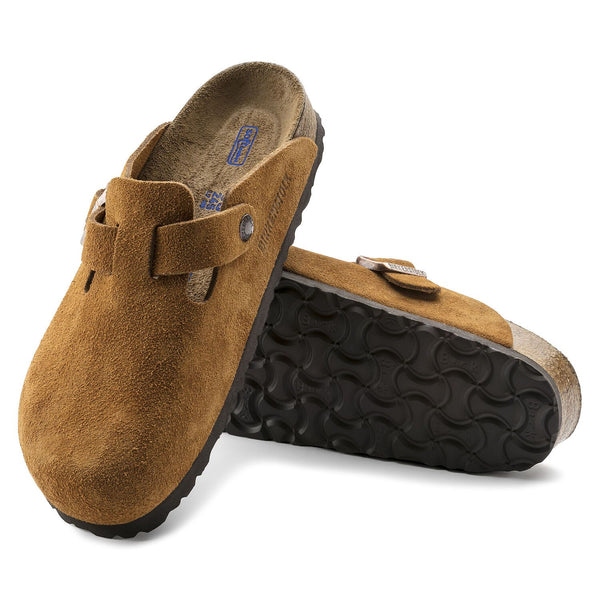 Boston | Soft Footbed | Suede | Mink