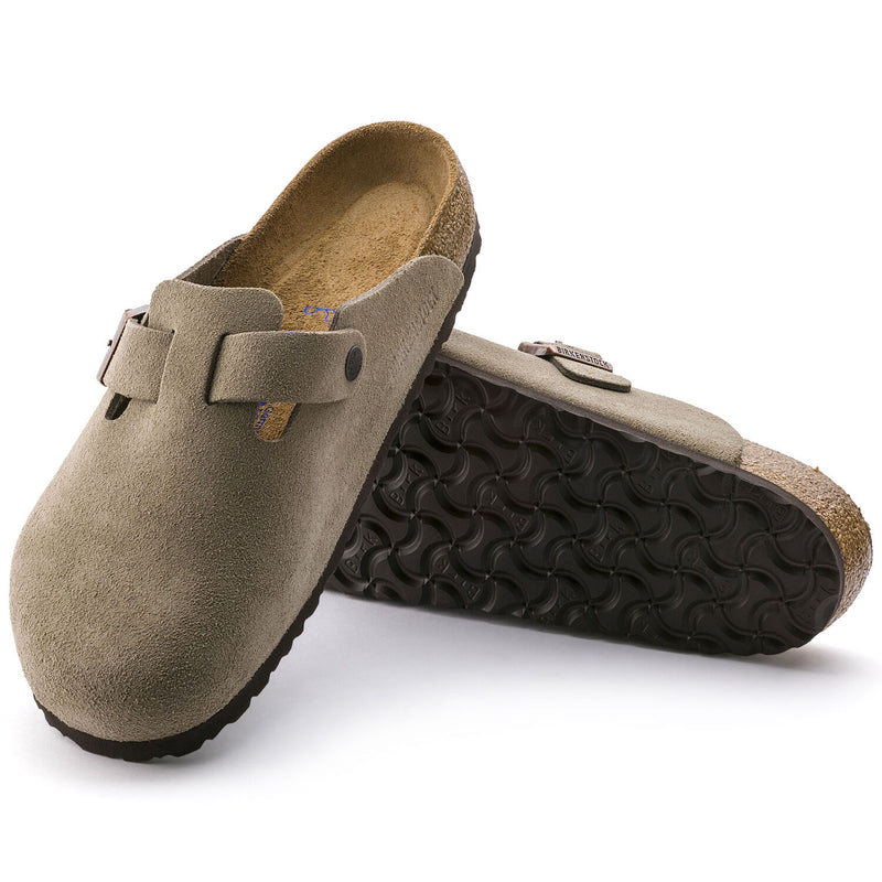 Boston | Soft Footbed | Suede | Taupe
