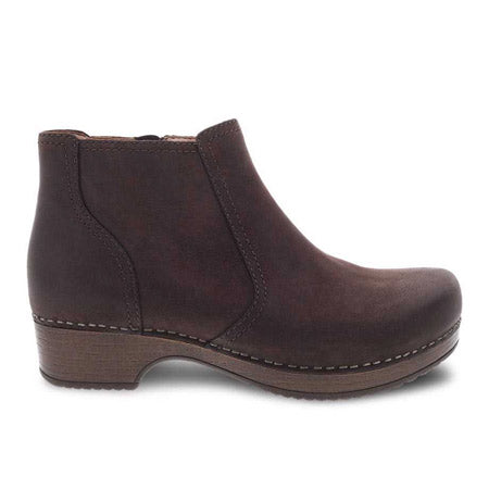 Barbara | Burnished Nubuck | Chocolate