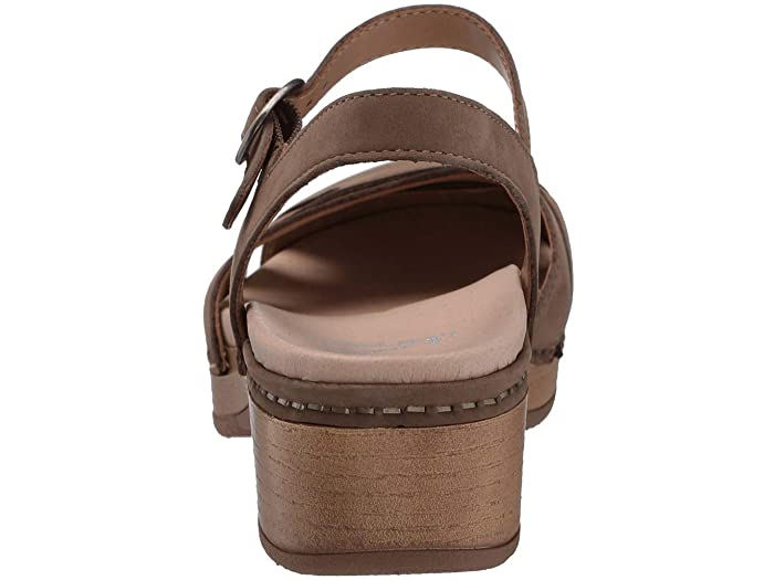 Betsey | Milled Nubuck | Taupe