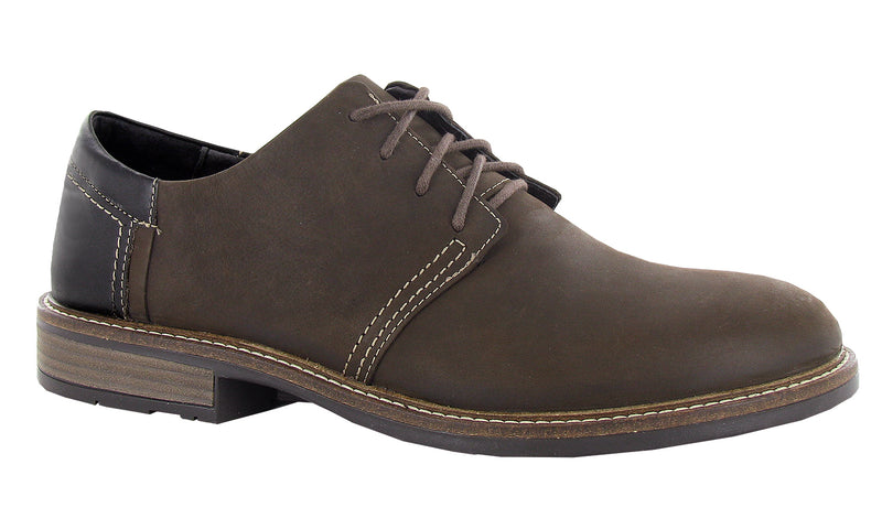 Chief | Oily Brown Nubuck/French Roast Leather