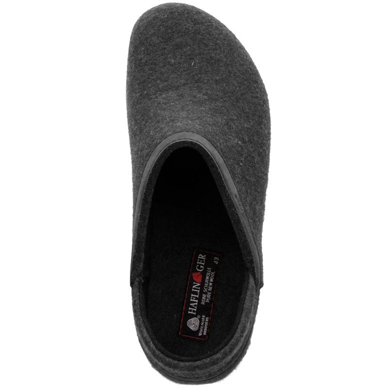 Grizzly Leather Heel | Charcoal