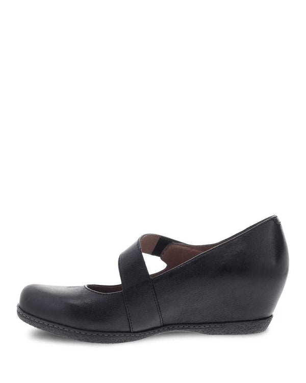 Lanie | Burnished Nubuck | Black