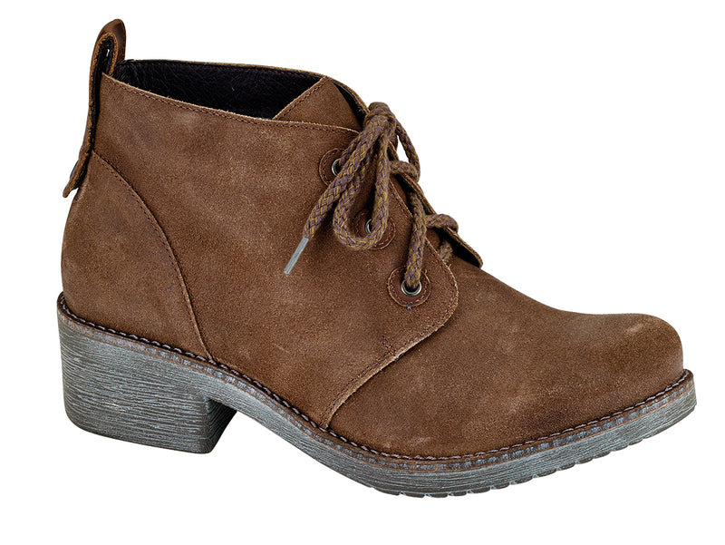 Love | Antique Brown Suede/Saddle Brown Leather