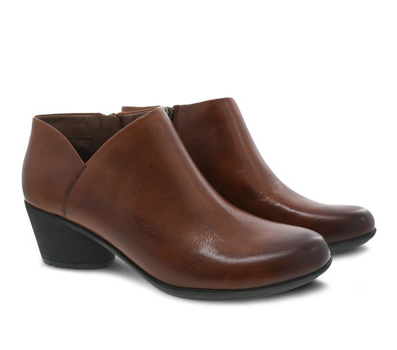 Raina | Burnished Nubuck | Chesnut