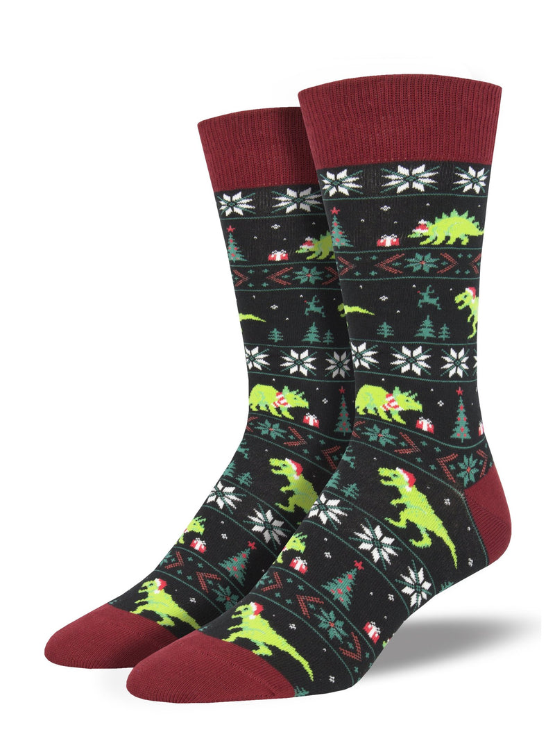 Santasaurus Rex | Men | Black