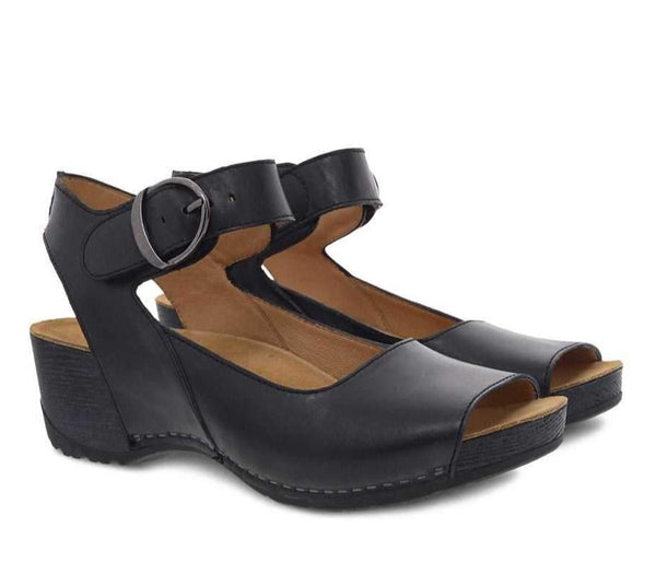 Tiana | Burnished Calf | Black
