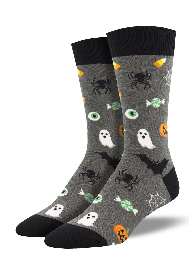 Very Spooky Creatures | Men | Gray Heather