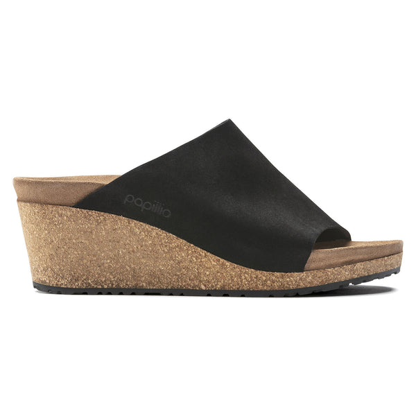 Namica | Wedge | Suede | Black