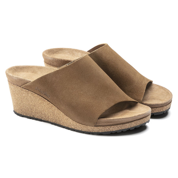 Namica | Wedge | Suede | Tea