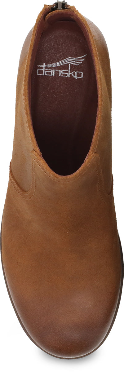 Becki | Waterproof | Suede | Tan