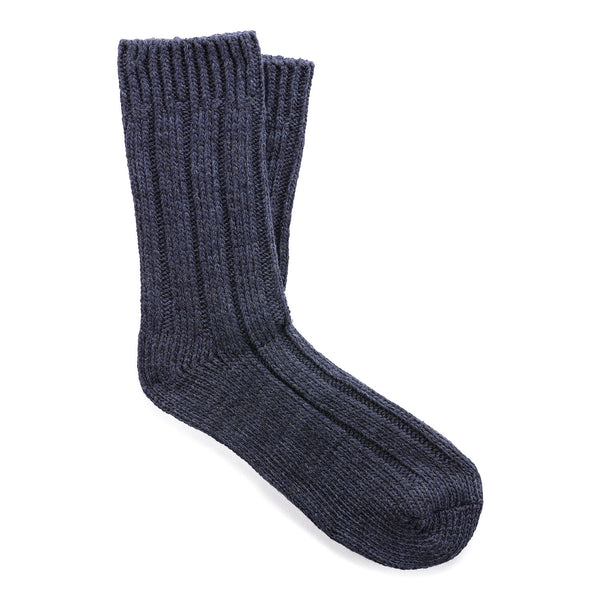 Twist Boot Sock | Men | Blue Night