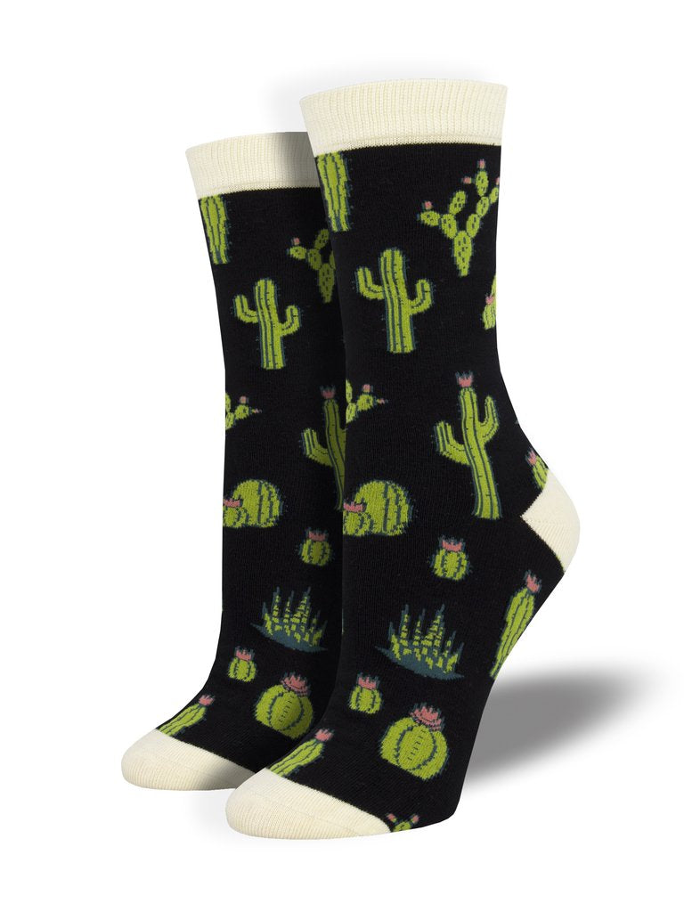 King Cactus | Bamboo | Women | Black