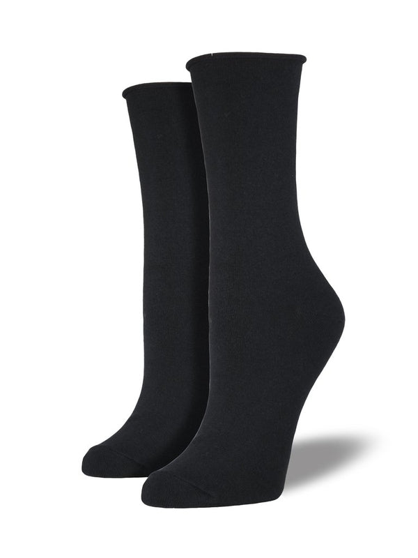 Bamboo Comfort Solid | Women | Black
