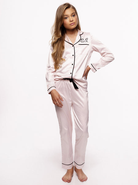 Pyjama Soft Pink Long Kids