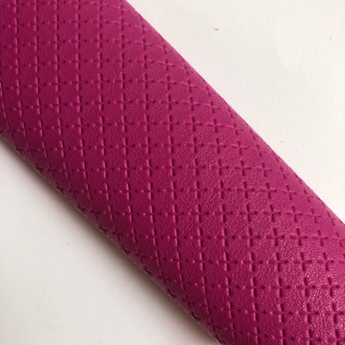 Fuchsia Criss Cross