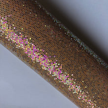 Load image into Gallery viewer, Gold MultiColour Sequin