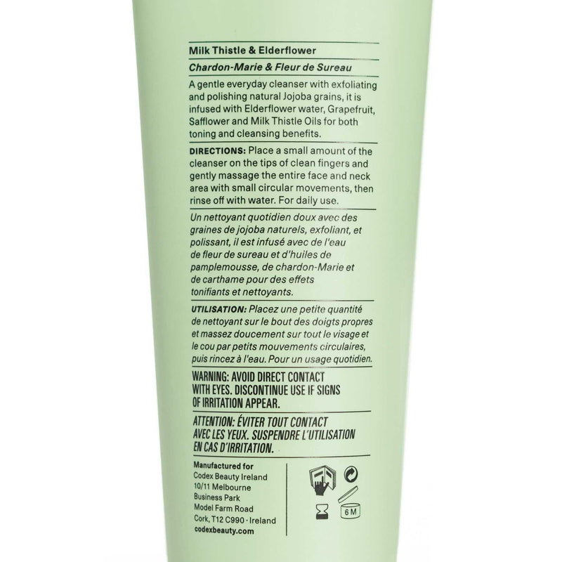 Codex Exfoliating Wash Back